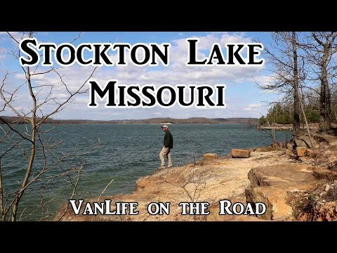 Stockton Lake, Missouri - VanLife on the Road