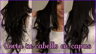 COMO CORTAR EL CABELLO EN CAPAS LARGAS ♥♥♥  HOW TO CUT AND LAYER YOUR HAIR♥♥♥ Andy Lo thumbnail