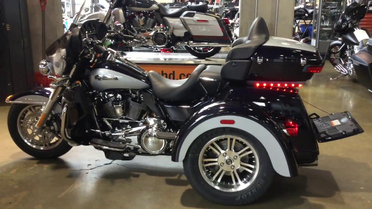 2019 Harley Davidson Flhcutg Tri Glide Ultra Youtube