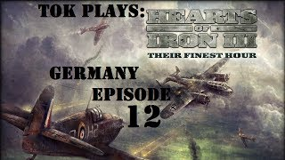 Tok plays HoI3 - Germany ep. 12 - Eve of War