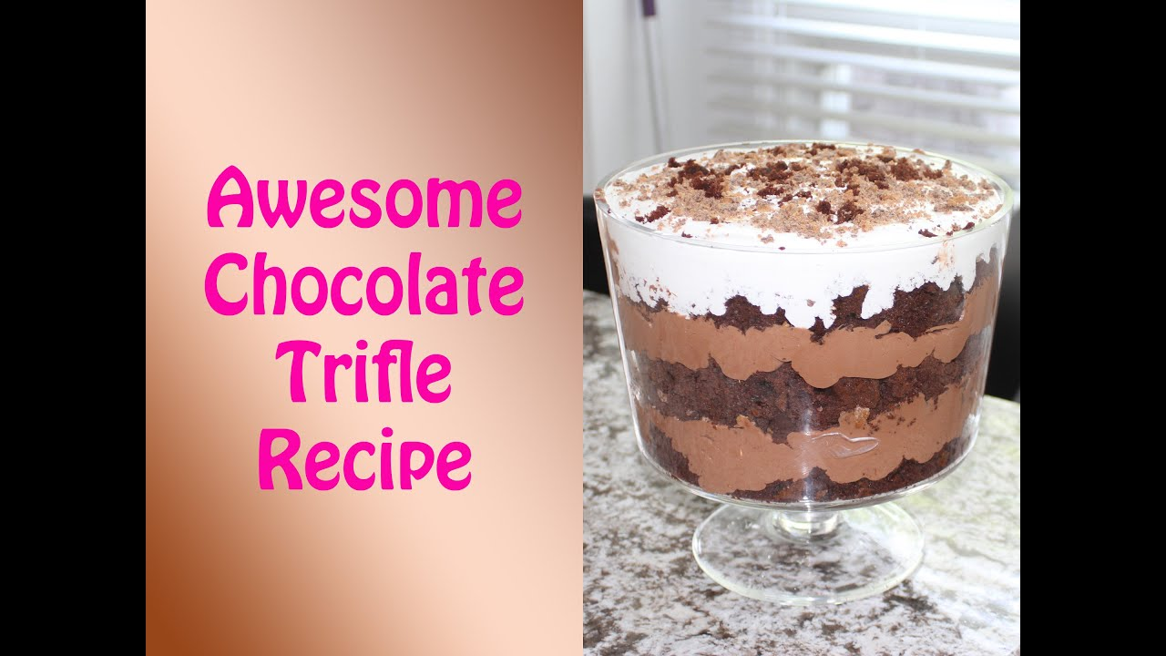 Delicious Rich Chocolate Trifle Recipe YouTube
