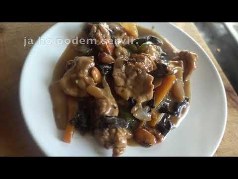 Pollastre amb ametlles - Pollo con almendras - chicken with almonds - Monsieur Cuisine Connect
