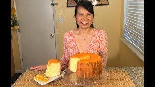 How To make Orange Chiffon Cake-Baking Recipes