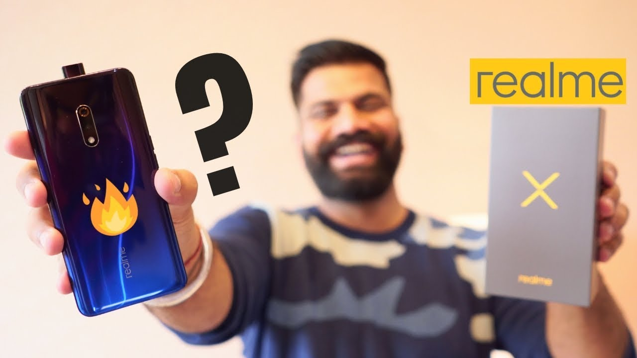 Realme X Unboxing & Hands On First Look - True Game Changer??? ????????????
