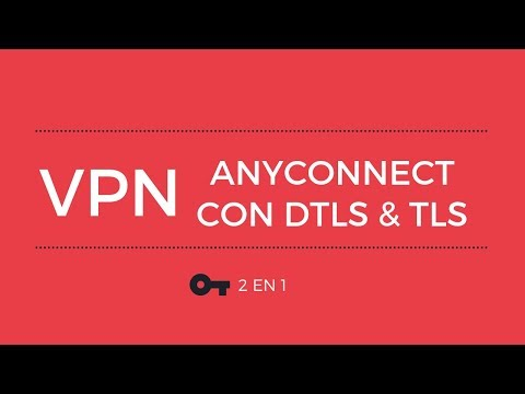 Cisco Anyconnect Secure Mobility Client - DTLS vs TLS - YouTube
