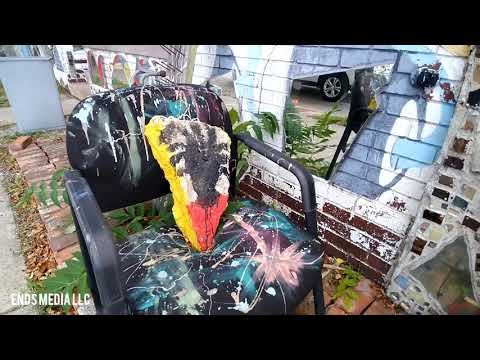 ENDS Video The Art Culture Dabl Mbad African Bead Museum in Detroit,MI