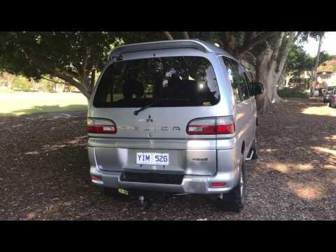 Delica Space Gear 2005 Leather Seat Active Field Edition www.SunRiseCars.com.au Edward Lees