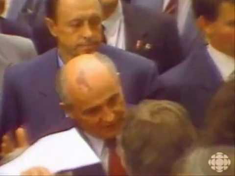 Mikhail Gorbachev: New European Soviet coming to Canada
