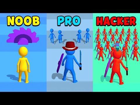 NOOB Vs PRO Vs HACKER - Join Clash 3D