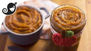 Date Pumpkin Butter - Naturally Sweetened   Vegan/Vegetarian Recipe