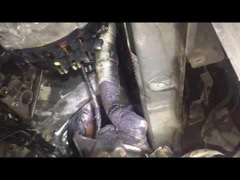 E65 E66 E60 Bmw 545i 745i N62 engine alternator bracket gasket replacement subframe drop!