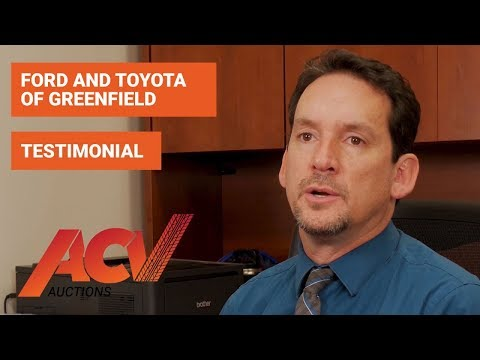 Toyota Of Greenfield >> Tim Lavoie From Ford And Toyota Of Greenfield Acv Auctions