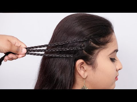 Best hairstyle 2019 for girls | Hair Style Girl | hairstyles | Quick Hairstyles for long hair thumbnail