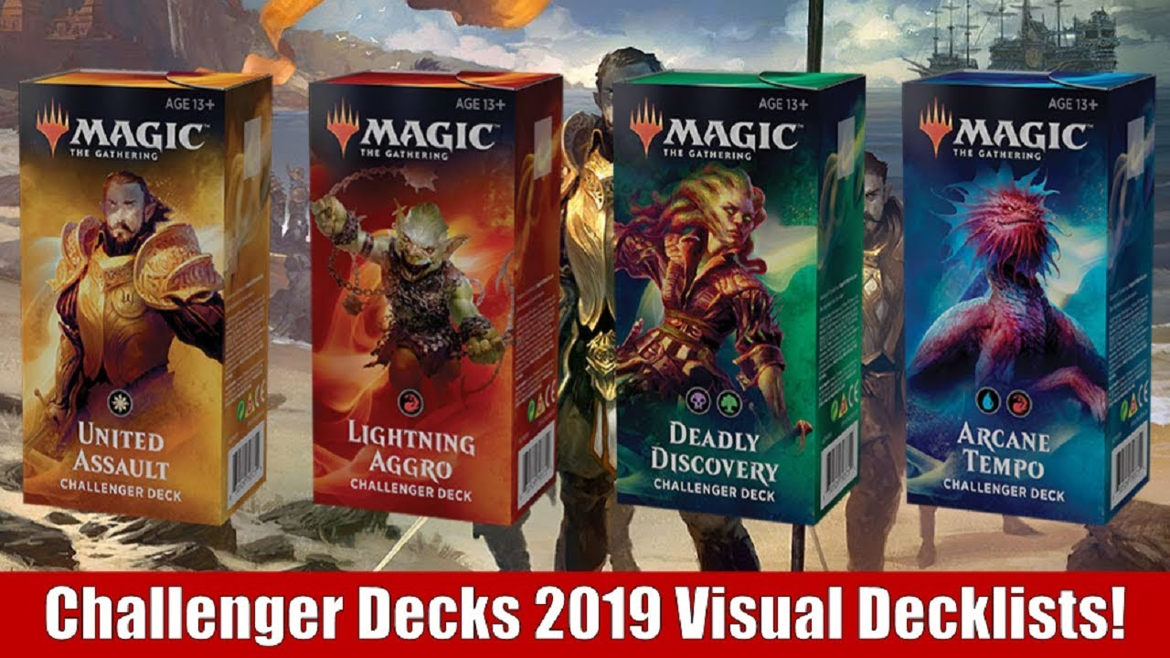 MTG Challenger Decks 2019 Visual Decklists and Thoughts