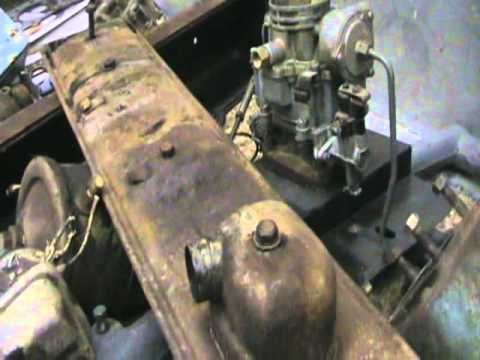 Buick straight 8 tear down - YouTube