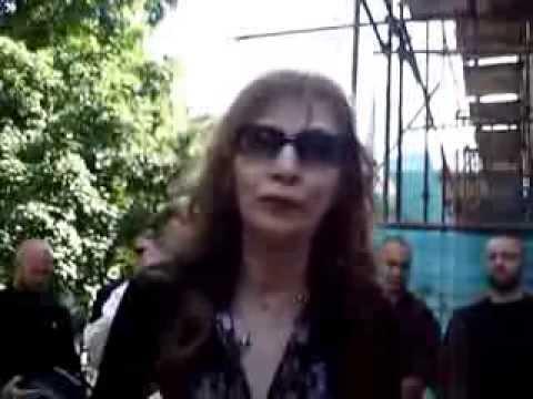 Могила Вахтанга Давиташвили и Джуны