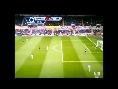 Gareth Bale - Amazing goal vs Swansea