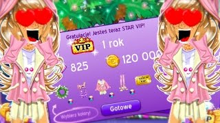 ⭐[MSP] VIP NA ROK ,PAKIET DIAMOND, 31 LVL i MILON W SKARBONCE ! ⭐