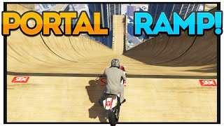 GTA 5 PORTAL MEGA RAMP! (GTA 5 Mods Showcase : EP 31)