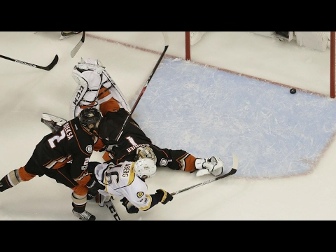 Injury-riddled Predators manage to sink Ducks, take 3-2 series lead