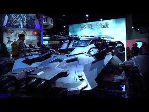 Justice League's New Batmobile Showcased at San Diego Comic Con 2017