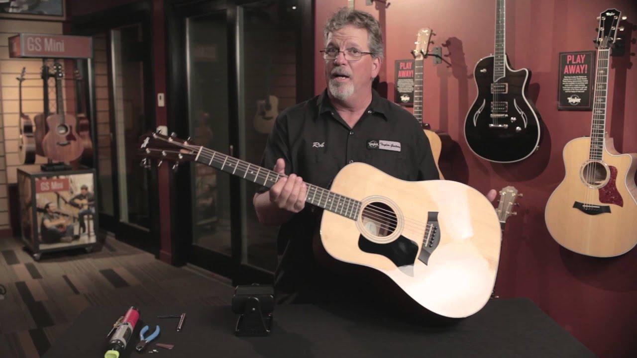 Fixing Guitar String Buzz Taylor Guitars