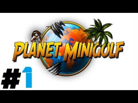 Planet Minigolf Pt.1 || PSN || Hole In One!