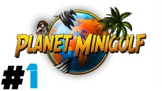 Planet Minigolf Pt.1 || PSN || Hole In One!