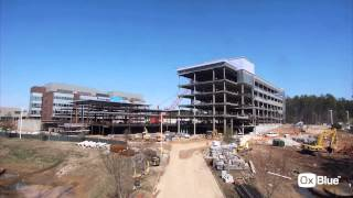Time-lapse of Construction of Biogen Idec - Building 26 by OxBlue.com