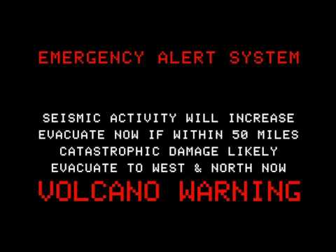 The Final Minutes USA   Triple Threat EAS Earthquake, Volcano, Weather