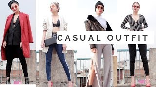 7 CASUAL OUTFITS | BACK TO COLLEGE/SCHOOL | ONE WEEK |DAY 25