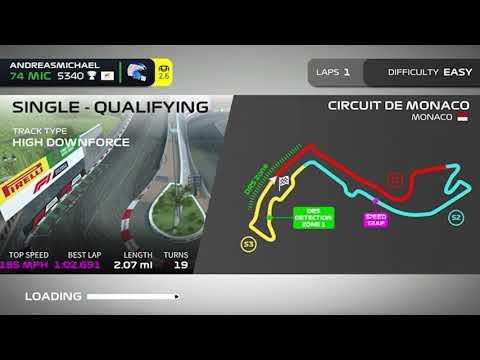 F1 Mobile Racing - Monaco 1:02.69 Setup (Unorthodox High-Speed)