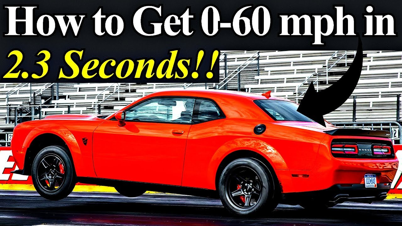 How Best 0 60 Mph Times Are Possible Top 5 Super Cars