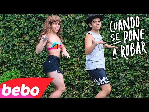 Rombai - Cuando Se Pone A Bailar (PARODIA) / Cuando Se Pone A ROBAR