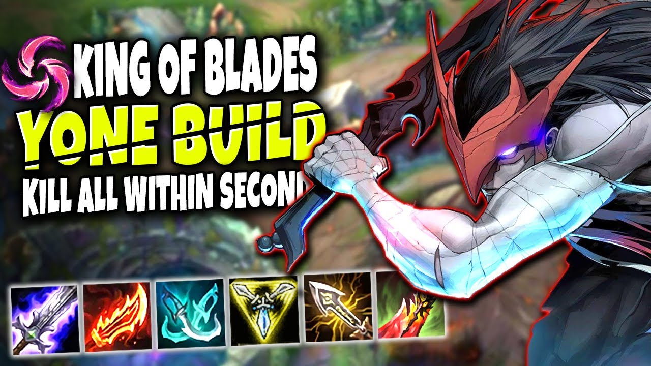 King of Blades Yone Max Attack Speed build 🔥 DELETE all within SECONDS 🔥 LoL Yone Season 10 Gameplay