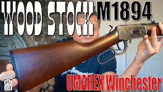 A-PLUS Wood Stock Kit - UMAREX Legends Cowboy Rifle Winchester M1894