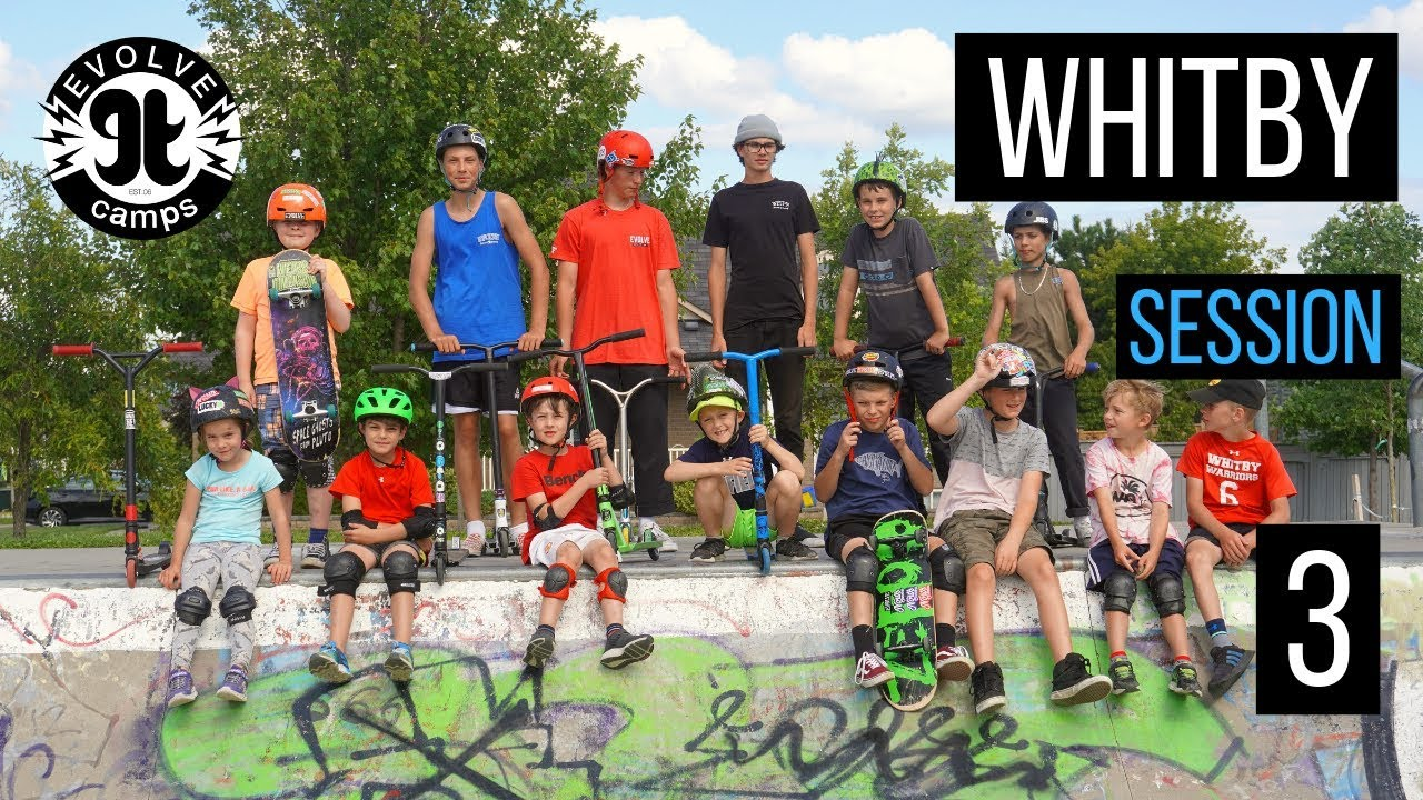 CAMP MONTAGE Whitby Session 3 - EVOLVE CAMPS 2019 - YouTube