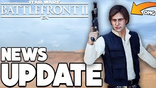 NEWS UPDATE! Han Solo BUFF, HUGE Hero Health Changes and More - Star Wars Battlefront 2