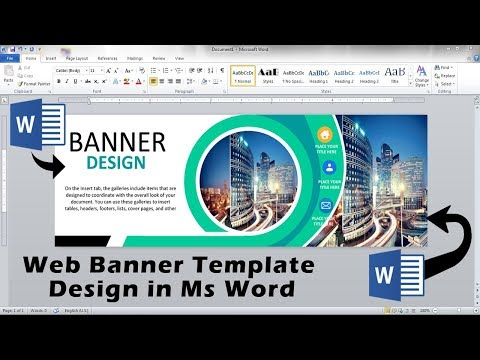 Ms Word Banner Template from i.ytimg.com