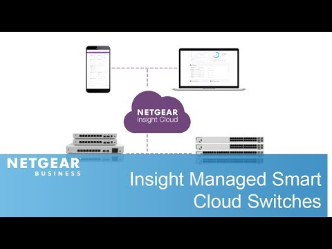 NETGEAR Insight Managed Smart Cloud Switches | Worry-Free Switch Management  Anytime, Anywhere