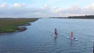 Stand Up Paddleboarding in Folly Beach