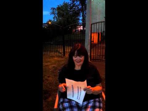 Debbie Black #icebucketchallenge for MND Scotland