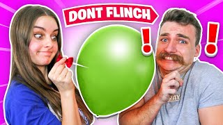 DON'T FLINCH CHALLENGE! *unseen Click video*
