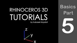 rhino tutorial basics session part 5 of 6