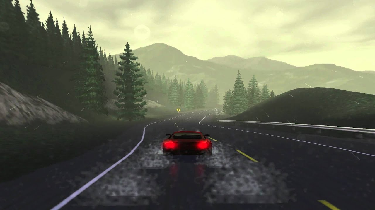 Need for speed 3 Hot pursuit PC 1080P Glide 3DFX Voodoo2 ...
