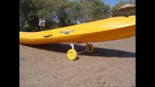 Diy  Wooden Kayak Cart Version 2