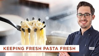 You've Learned How to Make Fresh Pasta, Here's the Best Way to Store it