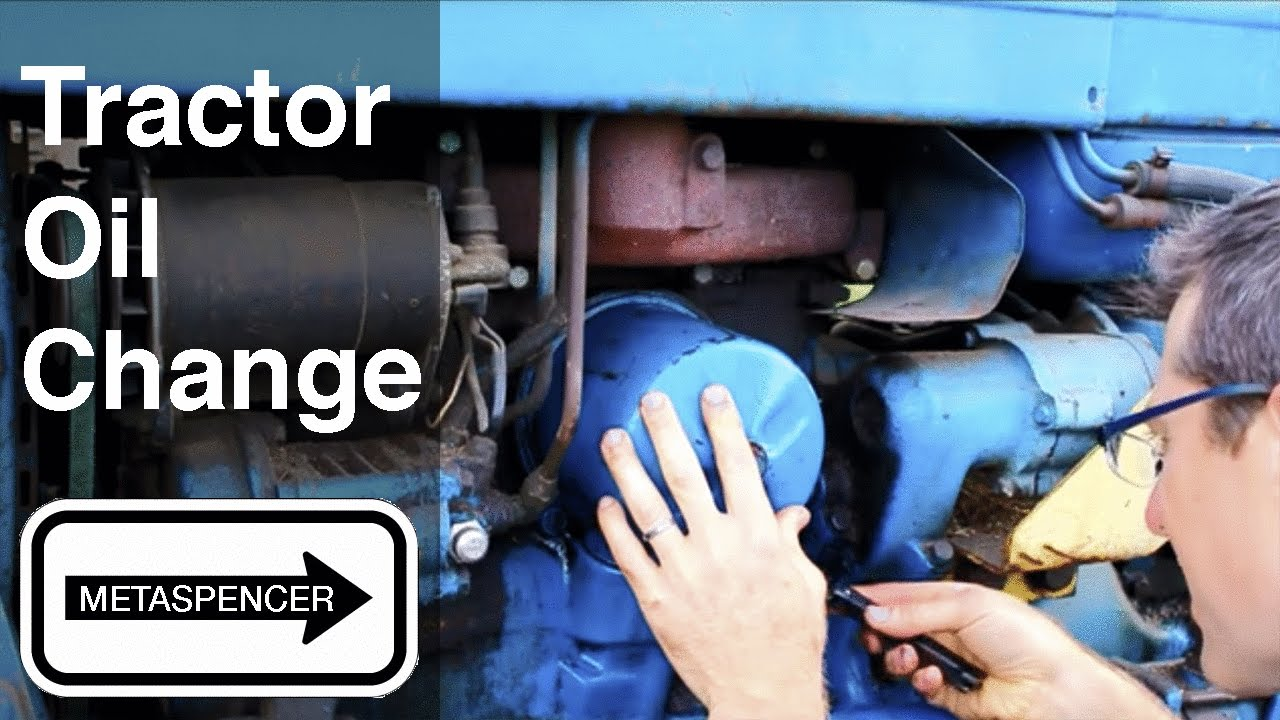 Tractor Oil Change 1967 Ford 3000 Youtube 2810 Wiring Diagram Model