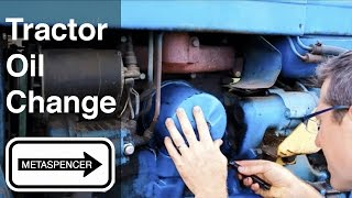 Tractor Oil Change 1967 Ford 3000