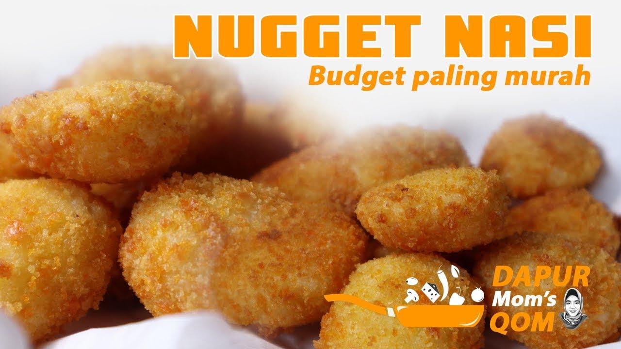 Cara membuat Nugget Homemade cuman pake nasi dan tepung | NUGGET NASI | Dapur Mom's Qom